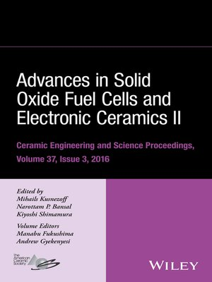 cover image of Advances in Solid Oxide Fuel Cells and Electronic Ceramics II
